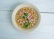 Zuppa di fagioli del senato fotografie stock