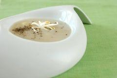 Zuppa di fungo immagine stock