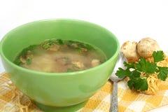 Zuppa di fungo Fotografia Stock