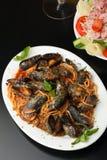 zuppa di Mussels 库存照片