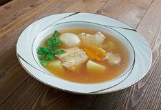 Zuppa di pesce Fotografía de archivo