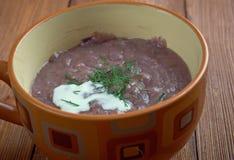 Zuppa di pesce della cipolla Fotografia Stock