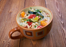 Zuppa d'orzo Royalty Free Stock Photos