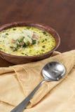Zuppa Toscana korv och grönkålsoppa Royaltyfri Foto