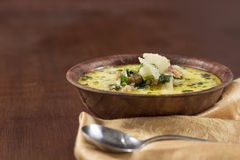 Zuppa Toscana Sausage and Kale Soup Stock Photography