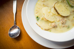 Zuppa Toscana Soup Stock Images