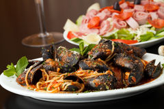 Zuppadi Mussels Dinner Stock Image