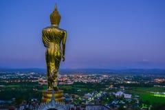 zurück von Buddha-Bild Stockfoto