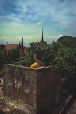Zurück von der Buddha-Statue Lizenzfreie Stockfotografie