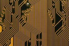 Zurück von einem Mainboard Motherboard Lizenzfreies Stockfoto
