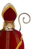 Zurück von Sinterklaas Stockfoto