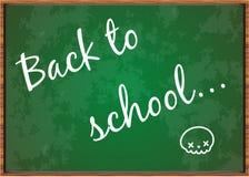 Zurück zu Schulbehörde Lizenzfreie Stockbilder