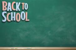 Zurück zu Schulbild zehn lizenzfreie stockfotos