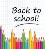Zurück zu Schule! Lizenzfreie Stockfotos