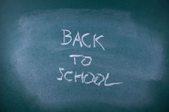 Zurück zu Schule Lizenzfreie Stockfotos