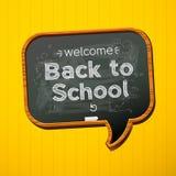 Zurück zu Schule. Stockbild