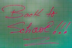 Zurück zu Schule 22 Lizenzfreie Stockbilder