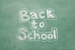 Zurück zu Schule Stockbilder