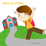 Zurück zu Schule Lizenzfreie Stockbilder