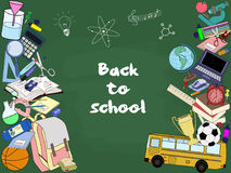 Zurück zu Schule Lizenzfreies Stockbild