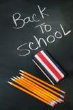 Zurück zu Schule acessories Stockfotos