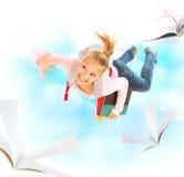 Zurück zu Schule. Ausbildungs-Konzept Stockfotografie