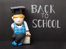 Zurück zu Schule-concep stockbilder