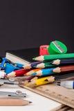 Zurück zu Schule-Hintergrund (EPS+JPG) Lizenzfreies Stockbild