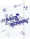 Zurück zu Schule-Hintergrund (EPS+JPG) vektor abbildung