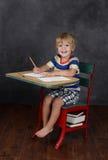 Zurück zu Schule Klassenzimmer stockfoto