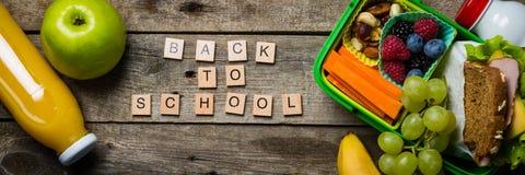 Zurück zu Schule-Konzept Stockbild