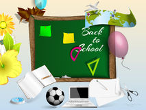 Zurück zu Schule Schullehrer Stockbilder
