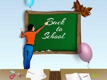 Zurück zu Schule Schullehrer Stockfotos