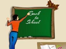 Zurück zu Schule Schullehrer Lizenzfreie Stockfotos