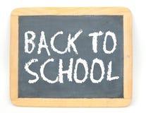 Zurück zu Schule-Tafel Stockfotos