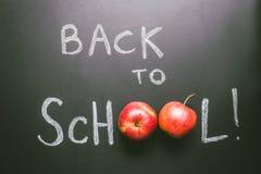 Zurück zu Schule Tafelhintergrund, Bildungskonzept Beschneidungspfad eingeschlossen Lizenzfreie Stockfotos