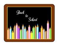 Zurück zu Schule Vektor Stockbild