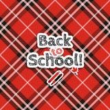 Zurück zu Schule! Vektor-Illustration stock abbildung