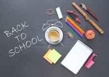 Zurück zu Schule Zeit, Hintergrund zu studieren Lizenzfreie Stockbilder