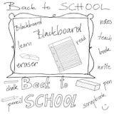 Zurück zu Schule-Zubehör Stockbilder