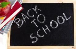 Zurück zu Schulezeichen Lizenzfreie Stockfotografie