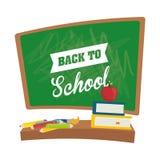 Zurück zu Schulgraphik Lizenzfreie Stockfotos