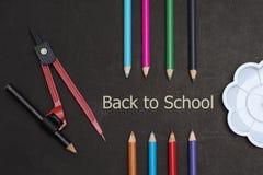 Zurück zu Schullandschaft Stockfotos