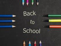 Zurück zu Schullandschaft Lizenzfreie Stockfotografie
