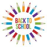Zurück zu Schulwillkommen Lizenzfreie Stockbilder