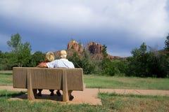 Zurückgezogen in Arizona stockbild