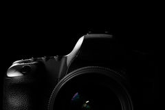 Zurückhaltendes Bild DSLR-Kamera Stockfotografie