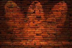 Zurückhaltendes Foto der Wand des roten Backsteins Lizenzfreie Stockbilder