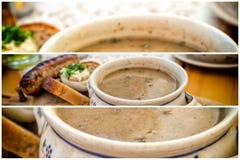 Zur, zurek - component of a traditional Polish soup Sourdough Stock Images