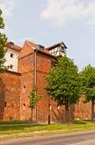 Zuraw crane tower (XIII c.) of Torun town, Poland Royalty Free Stock Images